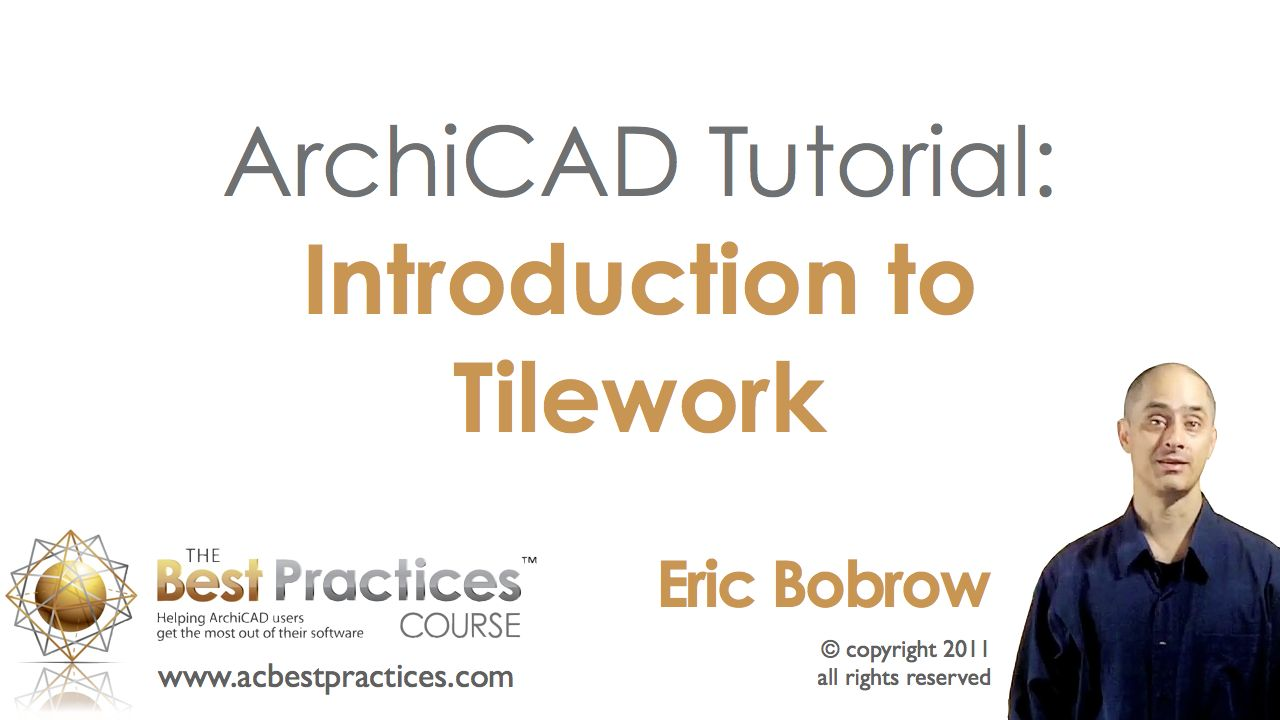 ArchiCAD Tutorial | Introduction to Tilework