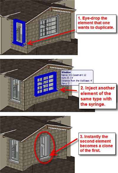 ArchiCAD Virtual trace reference