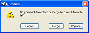 ArchiCAD How to - merging the Favorites