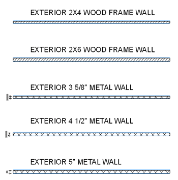 ArchiCAD Tutorial - visual Legend of typical wall types