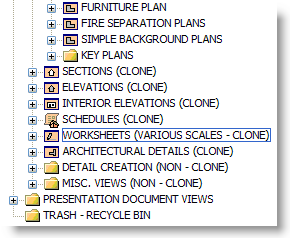 ArchiCAD Tutorial, Clone Folder