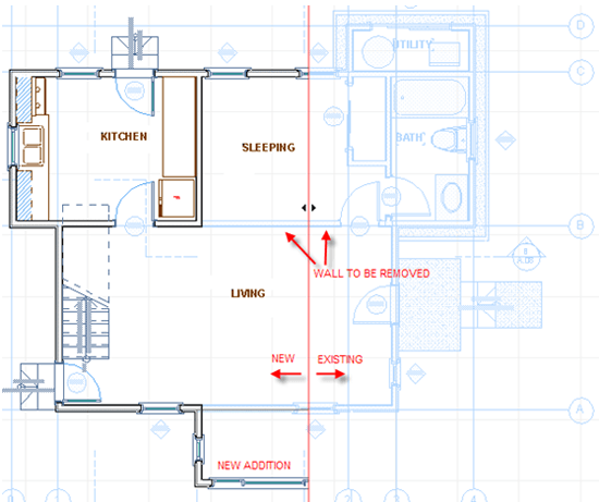 Comparing new designs in ArchiCAD