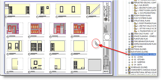 ArchiCAD, Clone Folder of all the Interior Elevations