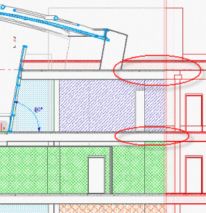 "ArchiCAD, model section remains ""live"" while the draftsperson edits a copy of it"