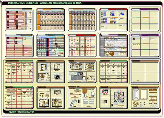 ArchiCAD Interactive Legend 1