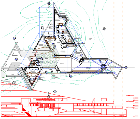 ArchiCAD Tutorial on Elevation as Trace Reference