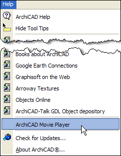 ArchiCAD Innovative Approaches—The Movie Player