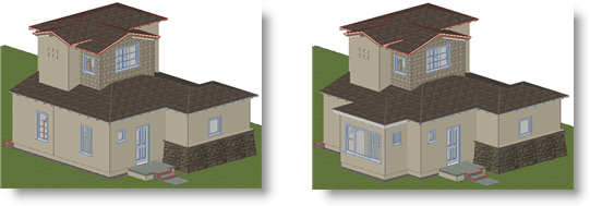 ArchiCAD Tutorial, As build to new build comparison