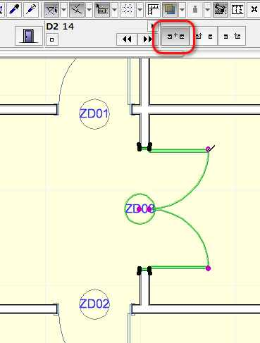 ArchiCAD Center Insertion Point