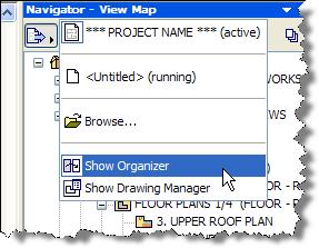 ArchiCAD, Show Organizer