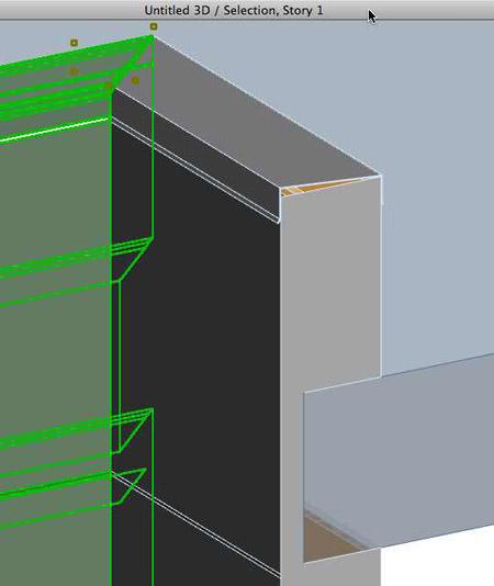 3D cutaway in ArchiCAD