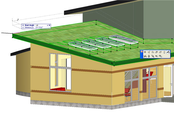 ArchiCAD Tutorial - Trim to Roof command