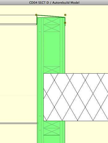 Walls complex profile in 3D