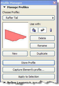 ArchiCAD Tutorial, Rafter Tails
