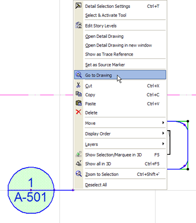 ArchiCAD Tutorial - Go to Drawing