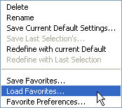 ArchiCAD Tutorial - Load Favorites command