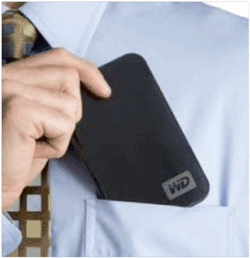 Portable hard disks make great backup devices