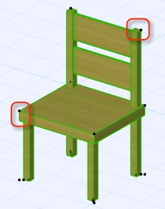ArchiCAD tutorial on creating new objects with custom hotspots