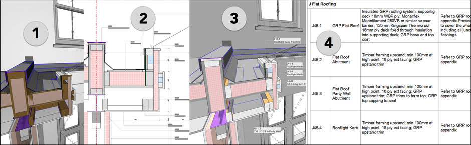 ArchiCAD training by Tim Ball will show you how to go directly from your 3D model to Detail drawings and Specifications
